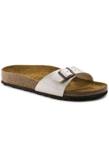 Birkenstock Pearl Madrid White Narrow Graceful Sandals 35Rq4AjL