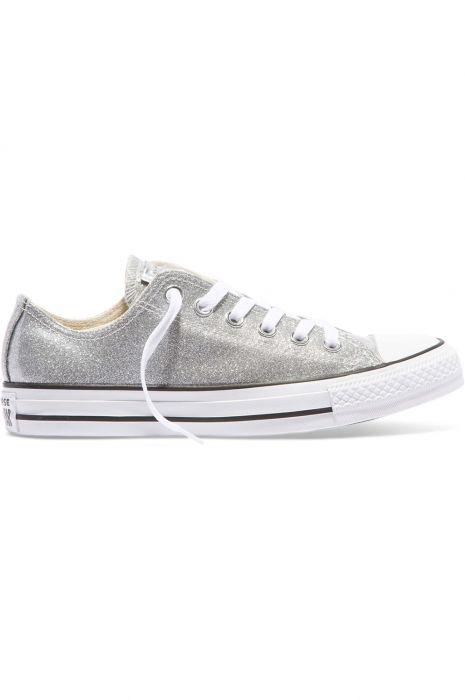 3a42d748b2d2 Converse Shoes CHUCK TAYLOR ALL STAR Silver Silver White