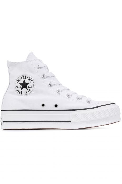 Converse Shoes CHUCK TAYLOR ALL STAR LIFT White Black White 933c731fe
