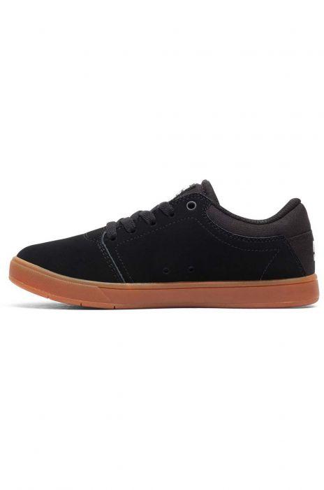 a3636bd8f DC Shoes Shoes CRISIS Black/Gum 37