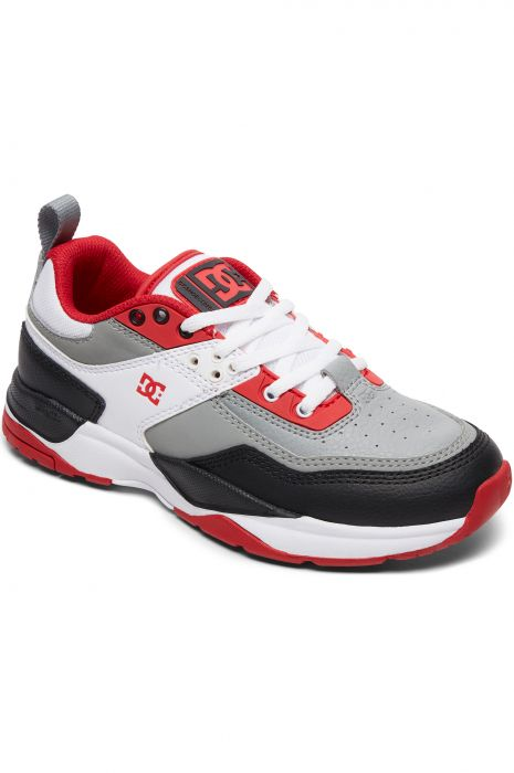 c50db29716 DC Shoes Shoes E.TRIBEKA White/Grey/Red