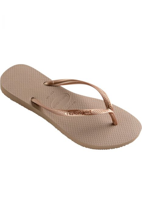 Chinelos Havaianas SLIM Rose Gold