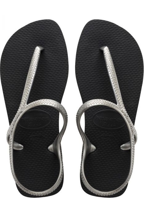 f1b753741f Chinelos Havaianas FLASH URBAN Black Silver