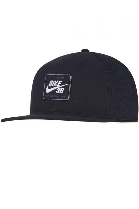 f55d1f3a0e0a3 Nike Sb Cap AROBILL PRO CAP 2.0 Black (White)