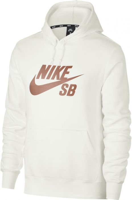 autumn shoes outlet on sale good texture Nike Sb Sweat Hood ICON HOODIE PO ESSNL Summit White/(Rose Gold)