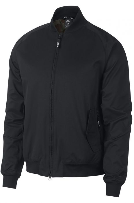 huge discount b0641 9607f Blusão Nike Sb BOMBER Black (Black)