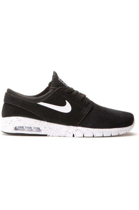 Nike Sb Shoes STEFAN JANOSKI MAX SUEDE Black/White