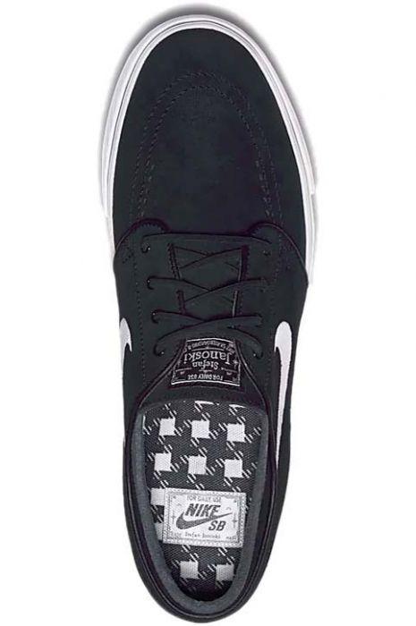 premium selection fb2d3 60d57 Tenis Nike Sb ZOOM STEFAN JANOSKI OG Black White-Gum Light Brown