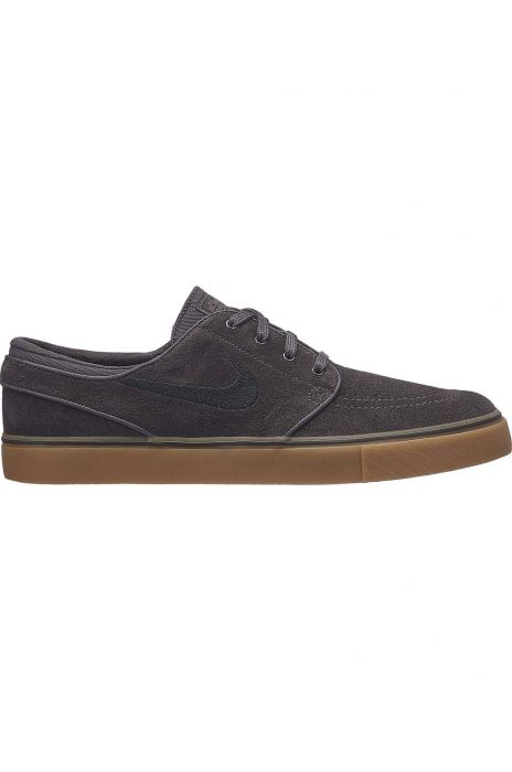 6a96cc999f9 Nike Sb Shoes ZOOM STEFAN JANOSKI Thunder Grey Black-Gum Lt Brown
