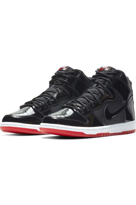 28f2b54938 Nike Sb Shoes ZOOM DUNK HIGH TR QS Black Black-White-Varsity Red ...