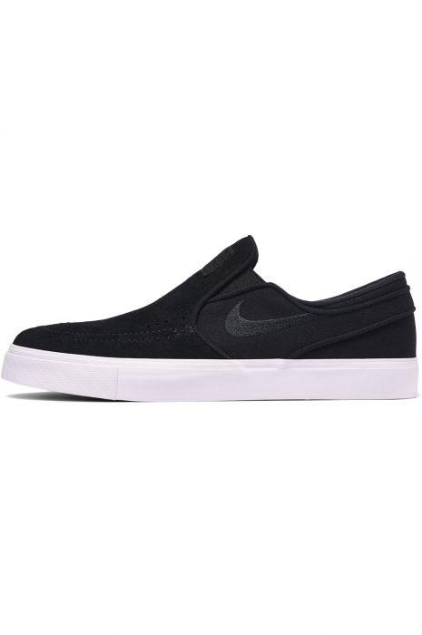 brand new d9c50 6a21d Nike Sb Shoes ZOOM STEFAN JANOSKI SLIP Black Black-White