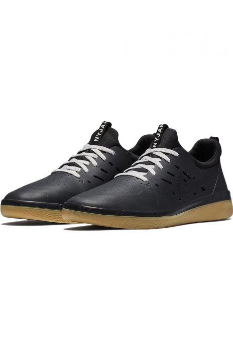 Tenis Nike Sb NYJAH FREE PRM Multi ColorBlack Gum Lt Brown