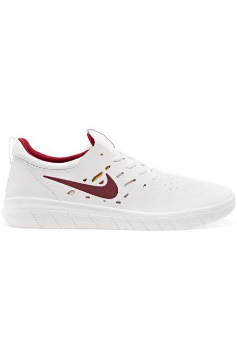 Tenis Nike Sb NYJAH FREE Summit WhiteTeam Crimson Univ Gold