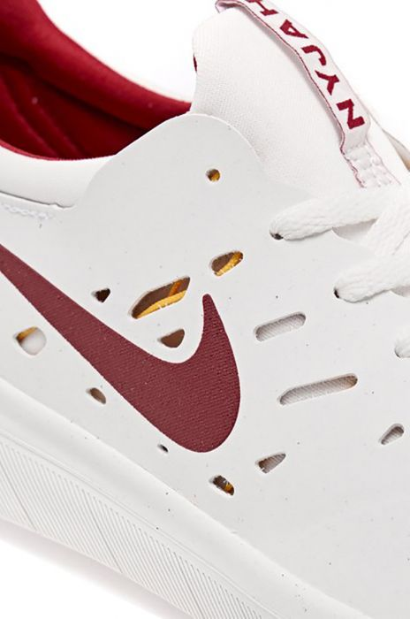 huge selection of ba0f4 6234c Nike Sb Shoes NYJAH FREE Summit White Team Crimson-Univ Gold-Midnight Navy