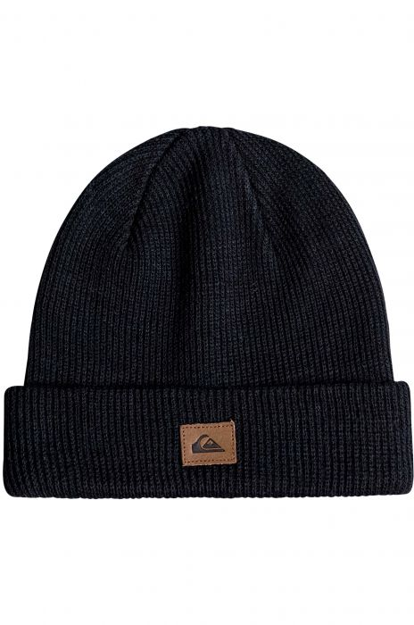 Quiksilver Beanie PERFORMED Black 8cfe3c5fc0a
