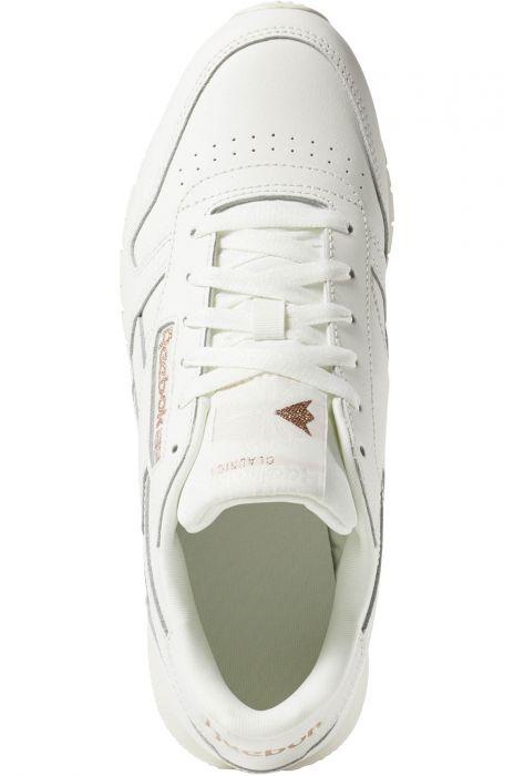 Reebok Shoes CL LTHR Cv ChalkRose GoldPaper White 39