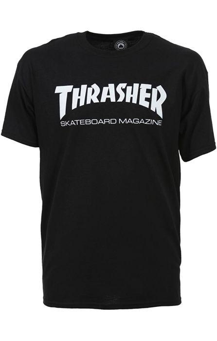 Thrasher T Shirt SKATE MAG Black XL