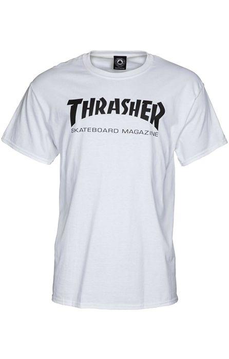 081f950964 T-Shirt Thrasher SKATE MAG White