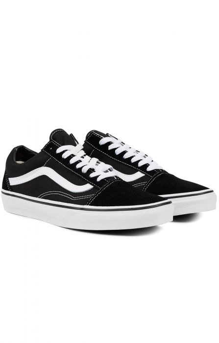 484b14ee828 Tenis Vans OLD SKOOL Black White