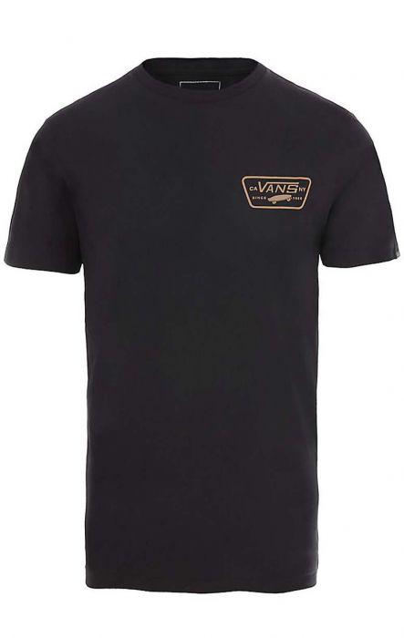9bf9a403 Vans T-Shirt FULL PATCH BACK Black/Dirt