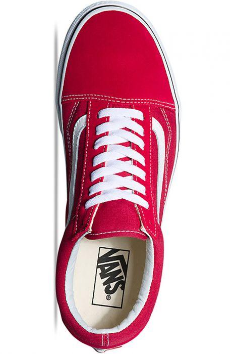 Vans Shoes UA OLD SKOOL Crimson/True