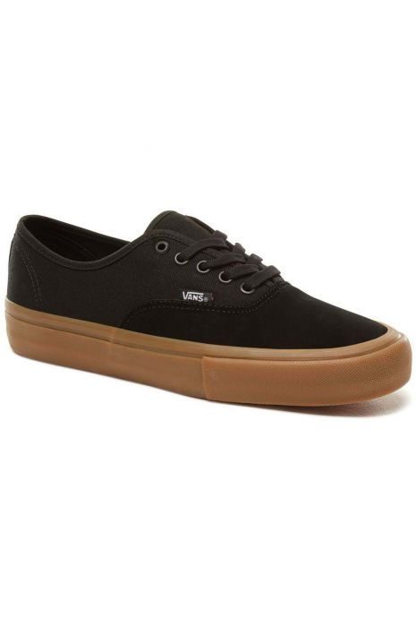 e209b728cfe Vans Shoes MN AUTHENTIC PRO Black Classic Gum