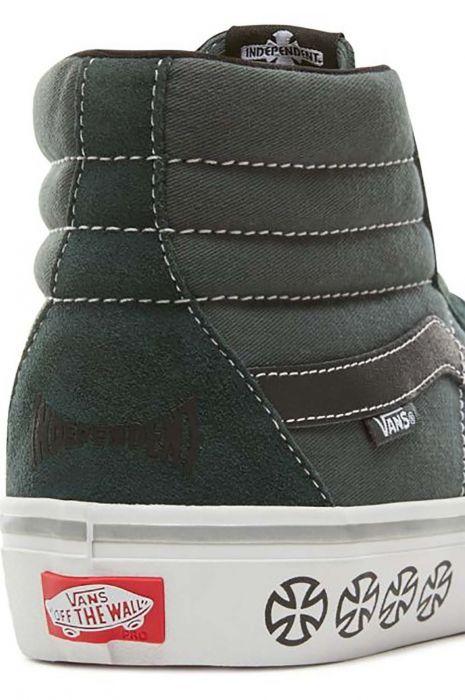 c59cdffb7ed31 Vans Shoes MN SK8-HI PRO (Independent) Spruce 42.5
