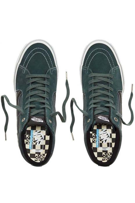 3dd34db7acf1d Vans Shoes MN SK8-HI PRO (Independent) Spruce