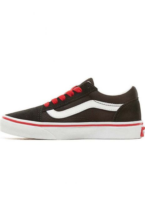 d4cf79a00c Vans Shoes UY OLD SKOOL (Pop) Black Racing Red