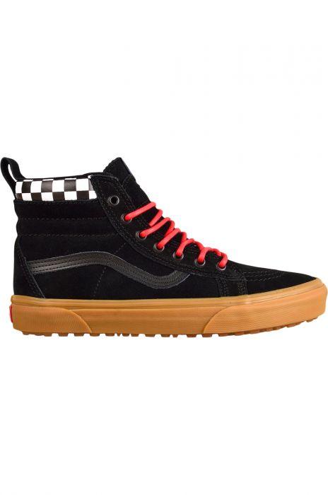 8bc92bfb190 Vans Shoes SK8-HI MTE (Mte) Checkerboard Black