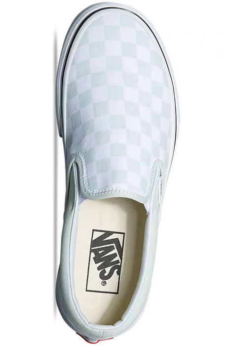 Tenis Vans UA CLASSIC SLIP ON (Checkerboard) Blue Flower