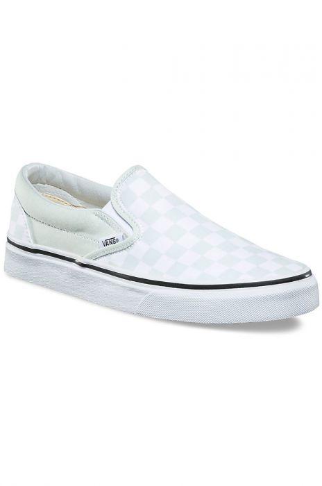 db2059d7 Vans Shoes UA CLASSIC SLIP-ON (Checkerboard) Blue Flower/True White 39