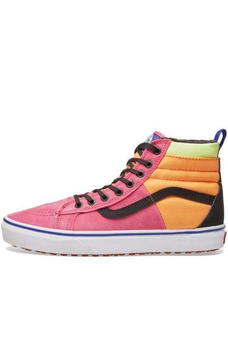 fb20c5b428d Vans Shoes SK8-HI 46 MTE DX (Mte) Pink Yarrow Tangerine Black
