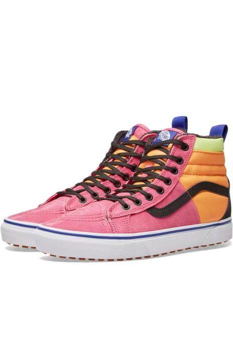 9b3b01cc4f66 Vans Shoes SK8-HI 46 MTE DX (Mte) Pink Yarrow Tangerine Black