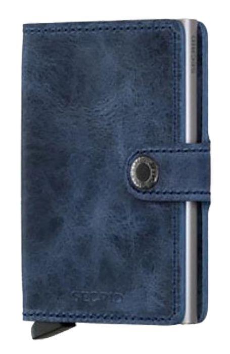 Carteira Pele Secrid MINIWALLET VINTAGE Blue
