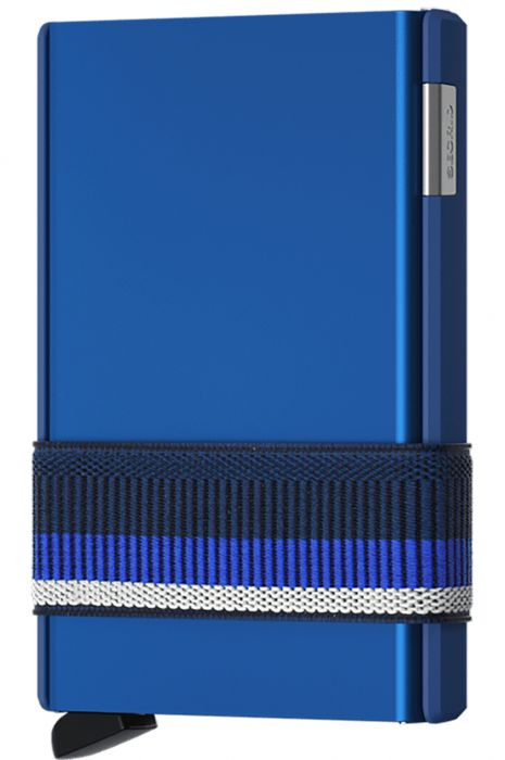 Carteira Pele Secrid CARDSLIDE Blue