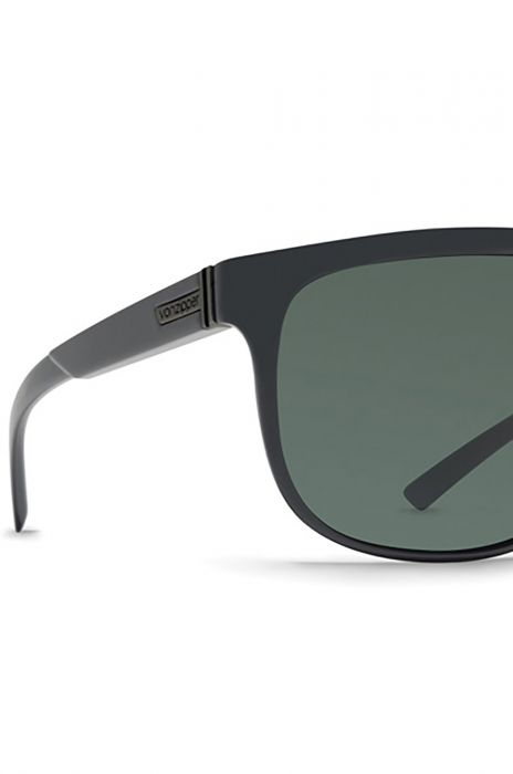 7ffb719b9 VonZipper Sunglasses CLETUS Black Satin   Grey