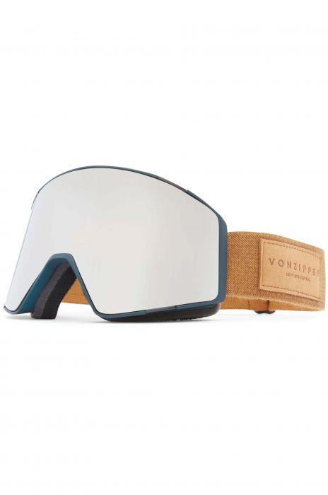 1dce710ad6708 VonZipper Goggles CAPSULE S.I.N. - Forest Satin   Wild Silver Chrome