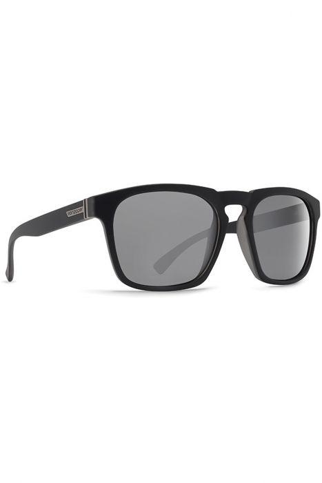 70f3e2dfe VonZipper Sunglasses BANNER Black Steel   Silver Grey Chrome