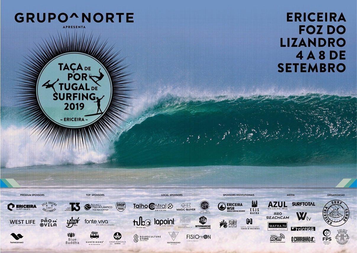 Ericeira Surf & Skate volta a apoiar a Taça de Portugal de Surfing