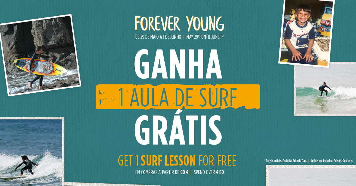 """Dia da Criança na Ericeira Surf & Skate é """"Forever Young"""""""